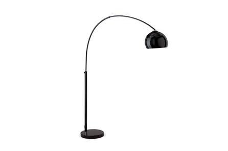 Floor Lamp-Bellina Arc Matte Black