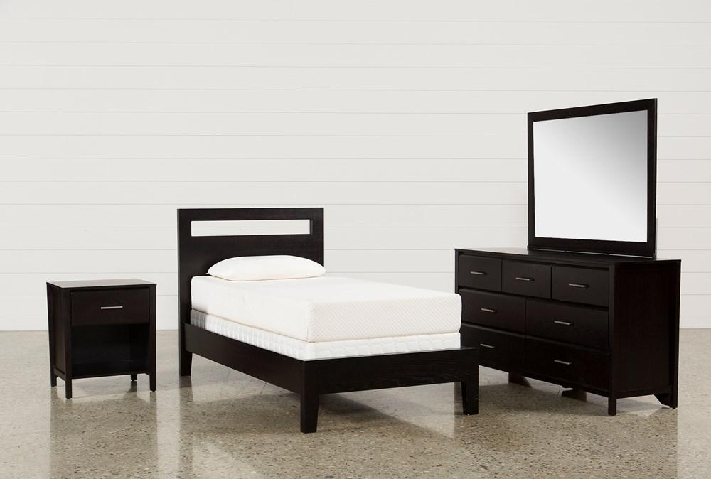 Milton Twin 4 Piece Bedroom Set