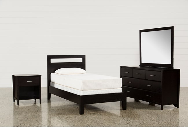 Milton Twin 4 Piece Bedroom Set - 360