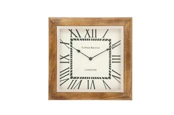 20 Inch Steel Wood Wall Clock