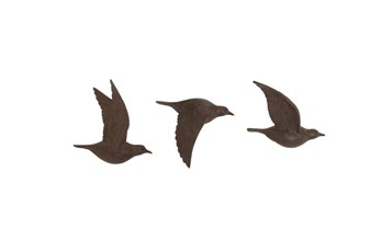 3 Piece Set Bird Wall Decor