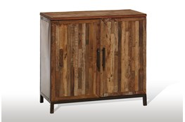 Vintage Finish 2-Door Server