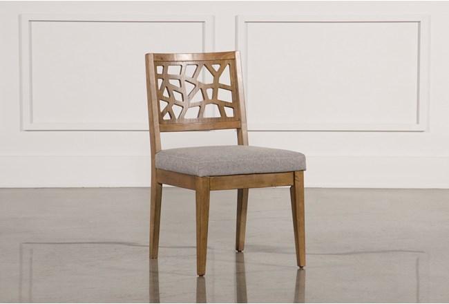 Carmel Oak Side Chair - 360