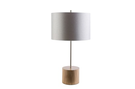 Table Lamp-Century Wood