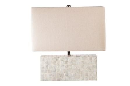 Table Lamp-Capiz Shell