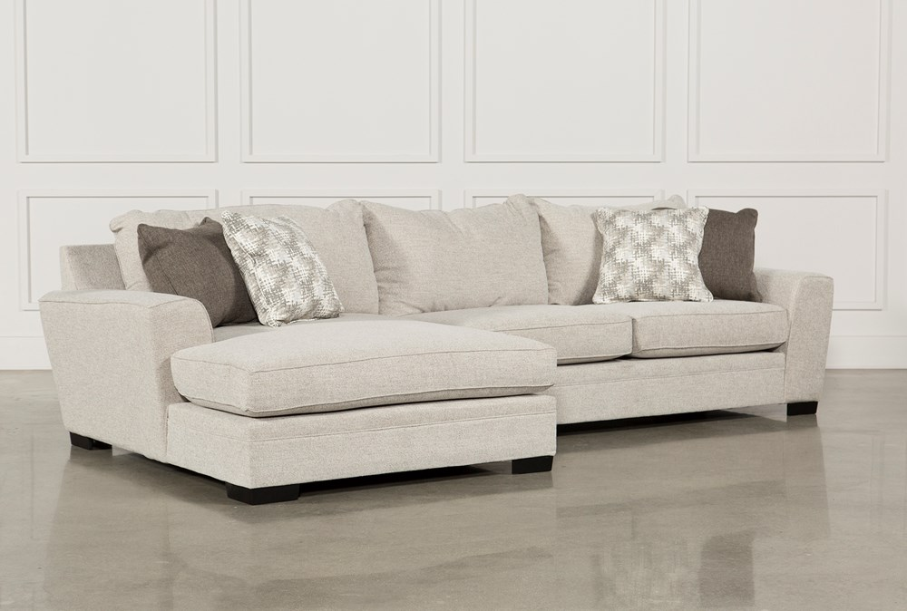 Delano 2 Piece Sectional W/Laf Oversized Chaise