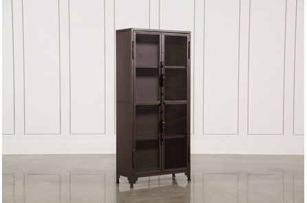 Cobre Iron 72 Inch Tall Bookcase