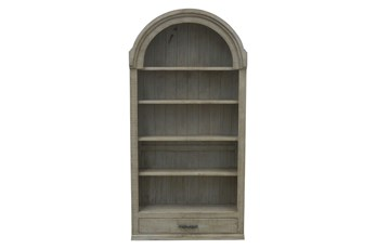 Natural Grey Tall Stacking Bookcase