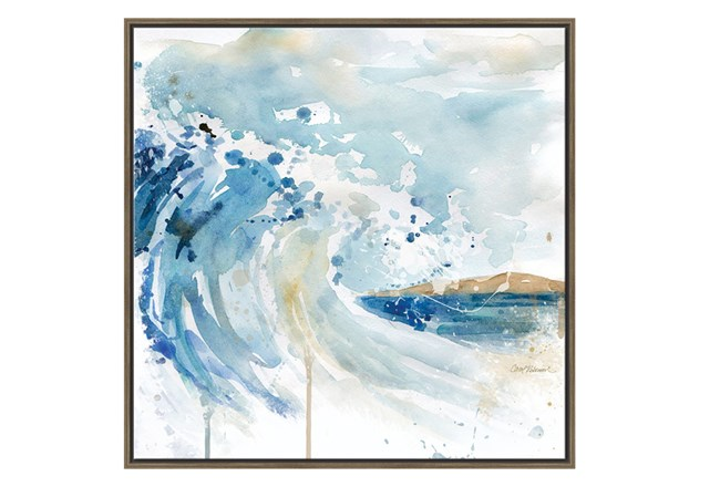 Picture-Watercolor Wave - 360