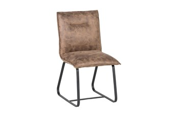 Warm Brown Side Chair