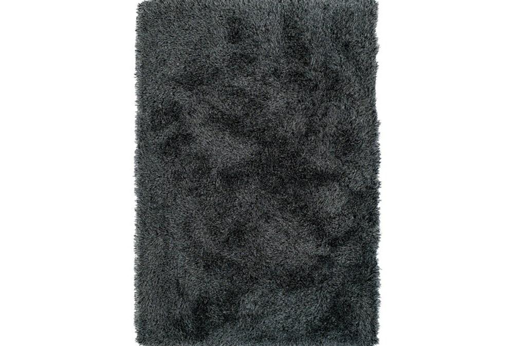 96X120 Rug-Lustre Shag Midnight