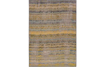 63X90 Rug-Ravi Stripes Blue