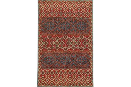 120X156 Rug-Ahmet Crimson