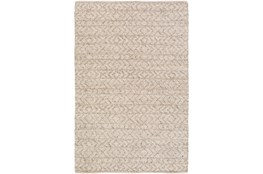 48X72 Rug-Diamond Stripe Taupe