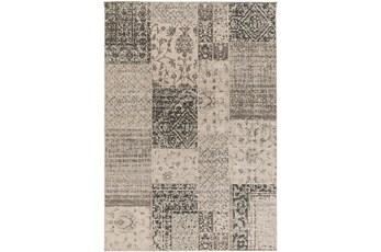26X48 Rug-Grey Patchwork
