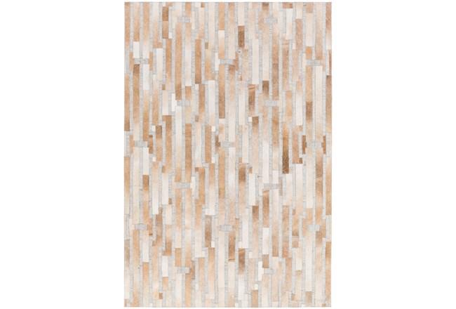 24X36 Rug-Tan Modern Stripes Hide - 360