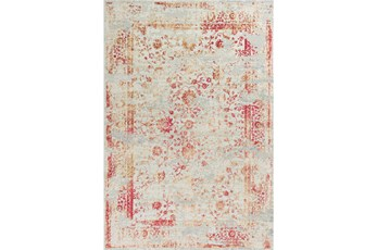 105X156 Rug-Antique Red