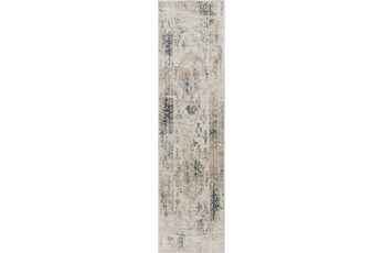 26X95 Rug-Antique Graphite