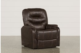 Brantly Walnut Power-Lift Chair