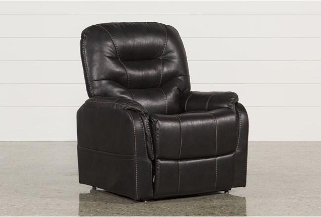 Brantly Black Power-Lift Chair - 360