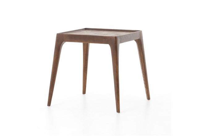 Reclaimed Elm End Table - 360