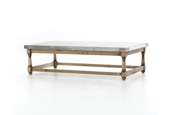 Pine & Iron Coffee Table