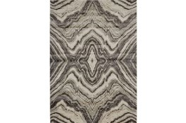 96X132 Rug-Grey Bookmatch Agate