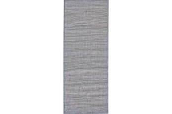 34X94 Rug-Orbit Grey