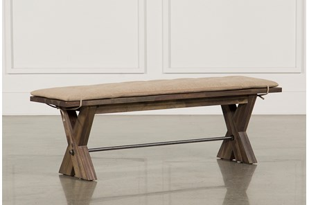 Mallard Bench W/Cushion