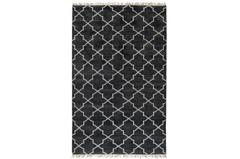 60X96 Rug-Trellis Charcoal