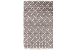 60X96 Rug-Trellis Brown