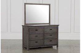 Owen Grey Dresser/Mirror
