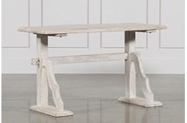 52 Inch Grey Desk
