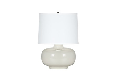 Table Lamp-Zoey White