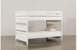 Summit White Full Over Full Bunk Bed