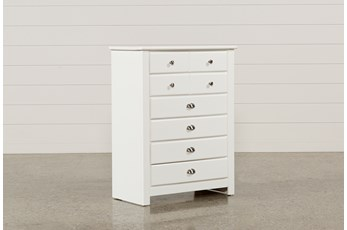 Summit White Chest Of Drawers
