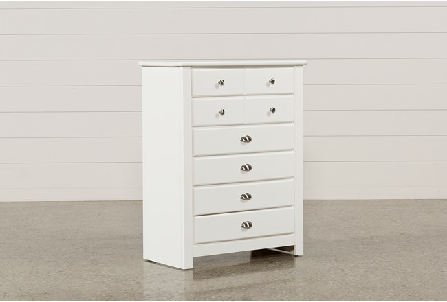 Summit White Chest Of Drawers - 360