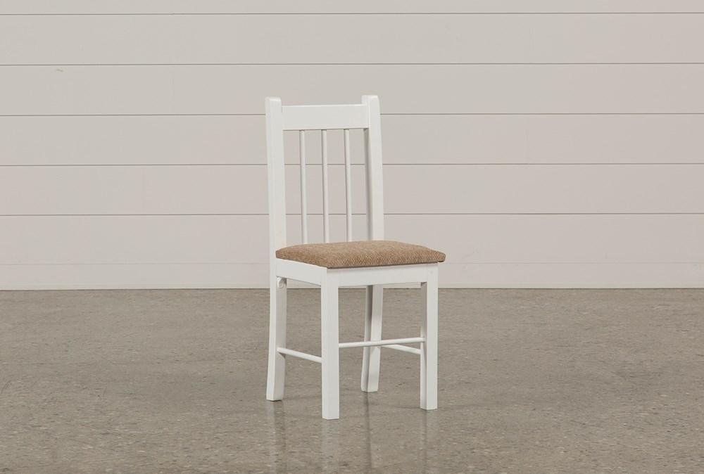 Summit White Desk Chair