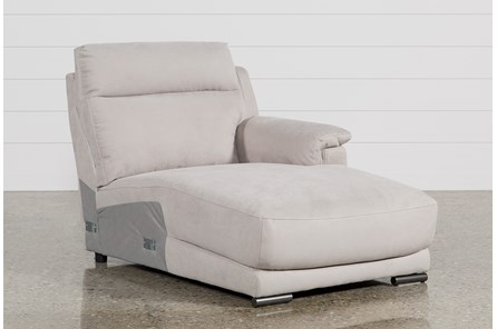 Kerwin Silver Grey Right Facing Chaise