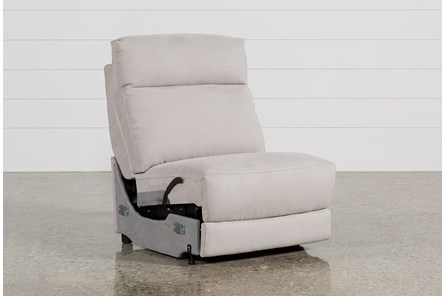 Kerwin Silver Grey Armless Recliner
