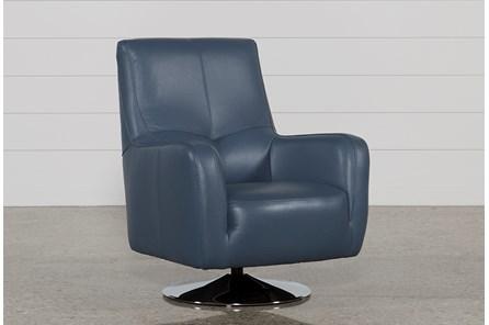 Kawai Leather Swivel Chair