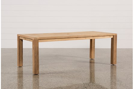 Outdoor Calistoga Teak Dining Table