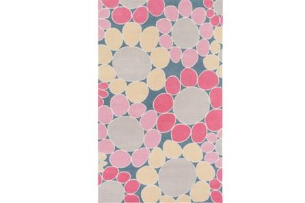 36X60 Rug-Pink Blooms