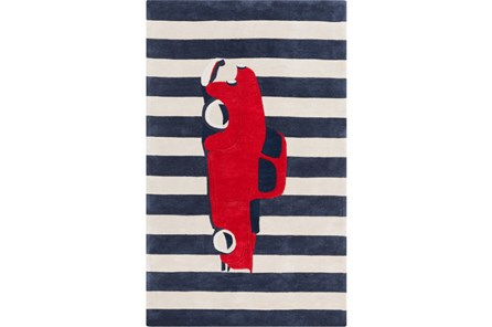 42X66 Rug-Red Truck