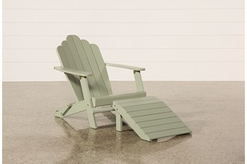 Outdoor Santiago Seagrass Lounge Chair/Ottoman