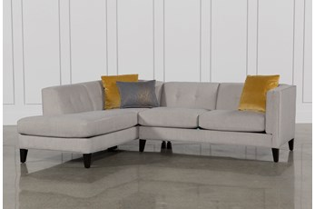 Avery 2 Piece Sectional W/Laf Armless Chaise