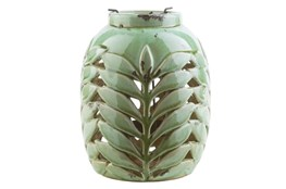 Outdoor Fern Lantern Medium