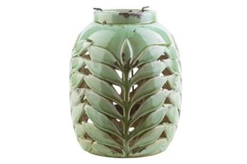 Outdoor Fern Lantern Medium