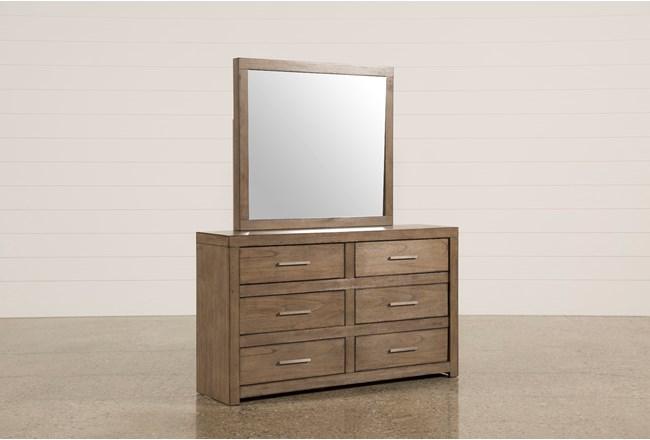 Riley Greystone Dresser/Mirror - 360