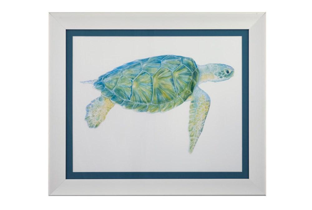 Picture-Blue Sea Turtle I
